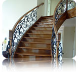 curved staircases